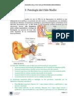 TEMA 3. Patología Del Oído Medio