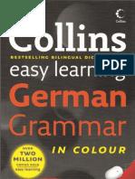Collins Easy Learning German Grammar