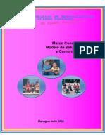 Modelo de Salud Familiar Comunitario - Marco_Conceptual