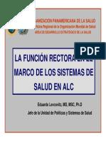Ebook - Función Rectora en el Marco de Sistemas de Salud en ALC
