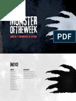 Libretos y movimientos castellano Monster of the Week
