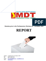 Situation prior to the Parliamentary Elections_EMDS