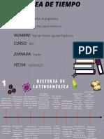 Linea de Tiempo Historia de Latinoamerica