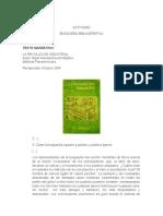 TIPOS DE TEXTO - BUSQUEDA BIBLIOGRAFIA