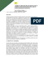 Barrio, J. et al. Estabilización plomo romano. 2005