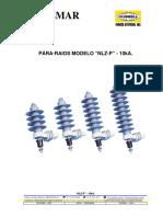 Pára-raios Modelo Nlz-p - 10ka