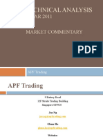 APF Trading Technical Analysis Market Commentary 6 Mar 2011