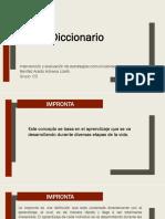 Diccionario. Adriana Lizeth Benítez Acedo