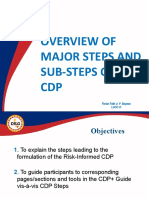 3. Overview of Steps_Sub-Steps of CDP
