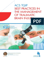 TQIP Best Practices Head Injury Guidelines