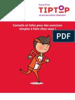 Brochure Activité physique Tip Top