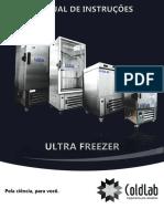 Manual  Ultra freezer Coldlab - Freezer de Plasma