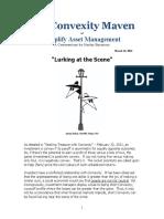 Convexity Maven - Lurking at the Scene
