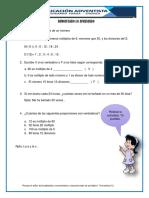 Tarea de Matematica Multiplos y Divisores .