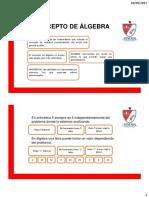 DIAPOSITIVAS INTRODUCCIÓN AL ÁLGEBRA