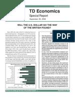 TdEcon FUTURE of Dollar 08