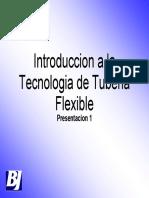 COPs Spanish Day 1 1 Introduccion a La Tuberia Flexible