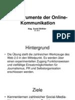 Uni Ue Instrumente Online Kommunikation Ss2011