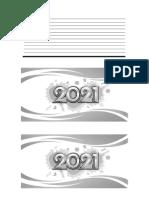 Agenda 2021 Pocket A4