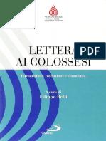48- Lettera Ai Colossesi, F. Belli