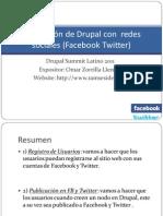Integración de Drupal con  redes sociales (Facebook(2)
