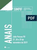 3º SIMPIF 2019