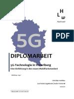 Diplomarbeit 5G in Vorarlberg Publication