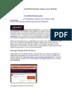 Instalar Ubuntu server 10.04 LTS paso a paso