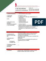 HOJA de SEGURIDAD Carboximetilcelulosa Alta Viscocidad
