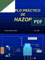 EJEMPLO PRÁCTICO DE HAZOP