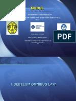 UNIJA Diktat Hukum Ketenagakerjaan 2021 Pertemuan 04 - 06 April 2021