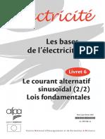 Les bases de l électricité 6 Courant alternatif sinusoidal 2