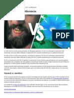 LSD vs LSA La Diferencia