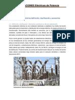 UNIDAD II Subestación eléctrica definición, clasificación y accesorios