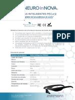 Brochure Gafas de terapia de sueño - Neuroinnova Ecuador