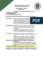 PERIODONCIA II PRACTICAS-MÓDULOS 2021 ON LINE