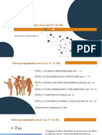 ESTRADA Oferta programática en la Ley N° 21.302