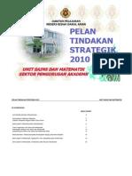 pelan tindakan strategik sains 2010