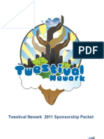 Twestival Newark Sponsorship Packet 2011