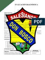 PLAN DE DIAGNOSTICO 5TO A- B