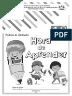 Apostila Hora de Aprender 1º Ano 1ºb 2021