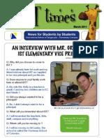 twIST times March 2011