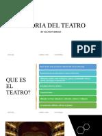 Historia Del Teatro Por Alexis Pedroza