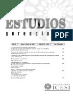 Informalidad en Colombia Causas Efectos y Caracter