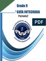 GUIA INTEGRADA N°3 SEGUNDO PERIODO