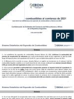 Cecha Expendio Combustibles Febrero 2021