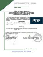 Res. CDOP 125 OFerta de Cupos de Pregrado 2021