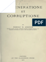 DE GENERATIONE ET CORRUPTIONE