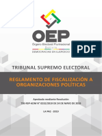 Reglamento Fiscalizacion EG 2019