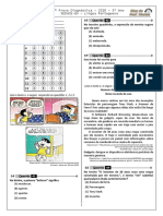 2ª P.D - 2018 (2ª ADA - 1ª etapa - Ciclo II) - PORT. 5º ano - BPW